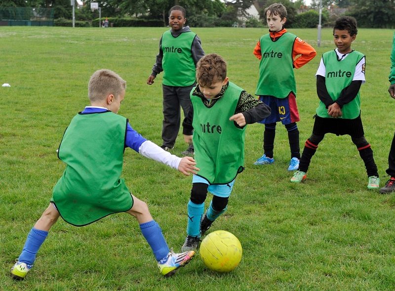 football_kids_training