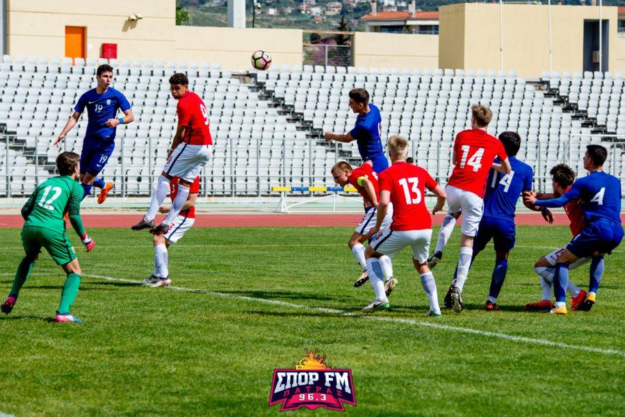 Φωτορεπορτάζ της Εθνικής Παίδων με την Νορβηγία