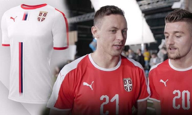 Μία κόκκινη και μία άσπρη φανέλα θα έχουν και οι Σέρβοι 4254303db7b
