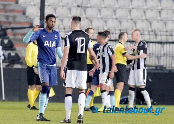 Το photostory ΠΑΟΚ – Τότεναμ για το UEFA Youth League!