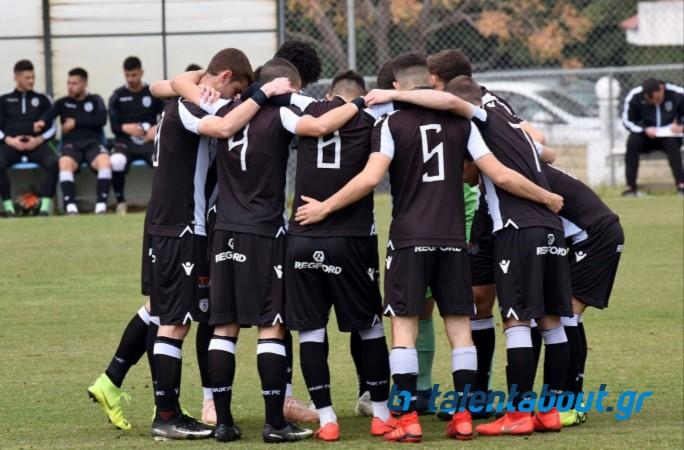 Το photostory ΠΑΟΚ – Λαμία για τη Super League U19!