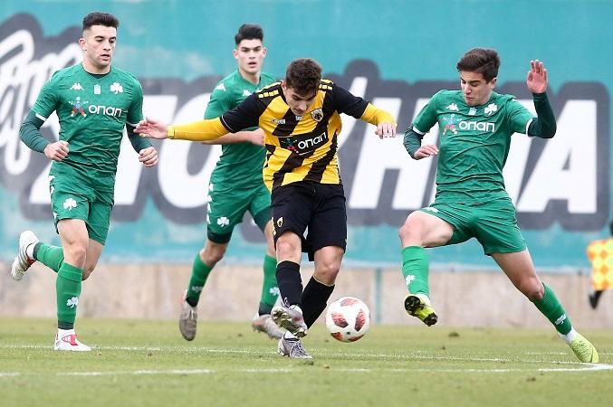 Το photostory του Παναθηναϊκός – ΑΕΚ της Super League U19!