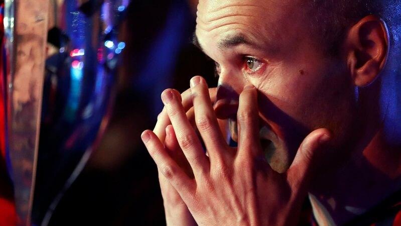 """Ο τελευταίος """"χορός"""" του Αντρές Ινιέστα! (photos)"""