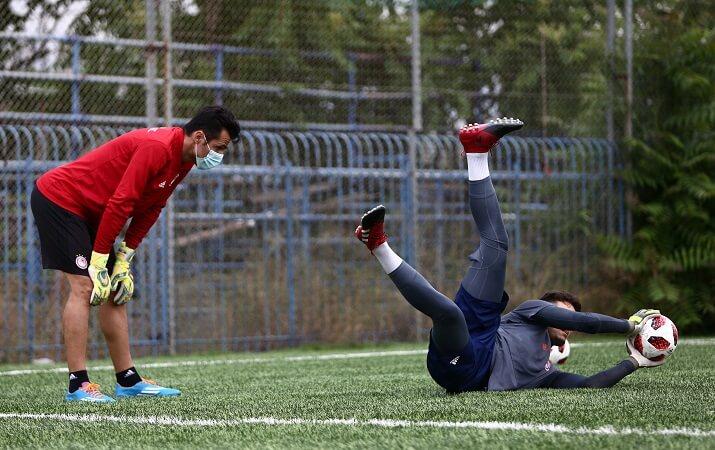 Κλικ από την πρώτη προπόνηση του Ολυμπιακού! (photos)