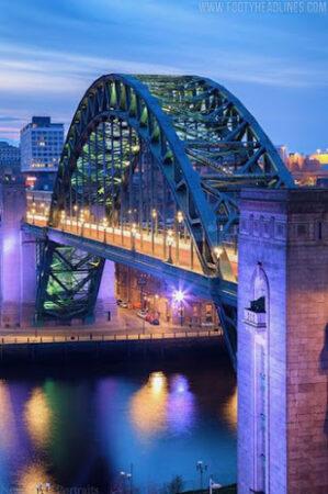 Η τρίτη φανέλα της Νιούκαστλ είναι… από γέφυρα! (photos)