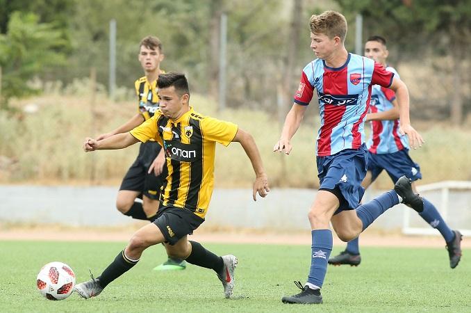 Το photostory του Πανιώνιος – ΑΕΚ της Super League U17!